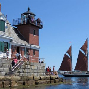 Visit Rockland Breakwater Lighthouse